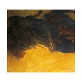 Creation of Light, 1913 Giclee Print by Gaetano Previati