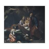 Nativity of Mary, 1709 Giclée-tryk af Carlo Cignani