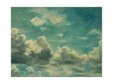 Study of Cumulus Clouds Giclee Print by John Constable