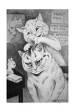 Phrenology, C.1911 Reproduction procédé giclée par Louis Wain