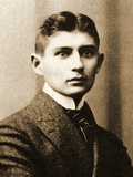 Portrait of Franz Kafka Stampa fotografica