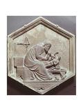 Bildhauerei Giclée-Druck von Andrea Pisano