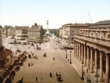 Place De La Comedie, Bordeaux, 1890-1900 Photographic Print