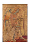 The Angel of the Annunciation, C.1333 Giclée-tryk af Simone Martini