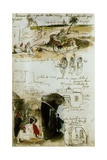 Sketchbook from Morocco, 1832 Giclee Print by Eugene Delacroix