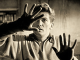 Jean Marais Playing the Part of Orpheus, 1950 Fotografisk trykk