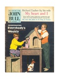 Front Cover of 'John Bull', May 1959 Giclee Print