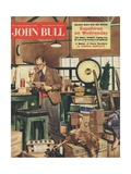 Front Cover of 'John Bull', December 1956 Giclee Print