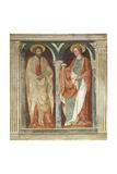 Theory of Saints, Fresco Giclée-tryk af Paolo Uccello