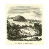 The Shore at Mancureali Giclee Print by Édouard Riou