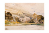 Scotland: 'Melrose Abbey', 1842 Giclee Print by William Callow