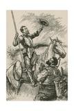Mambrino's Helmet Giclee Print by Paul Hardy