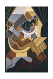 Table in Front of Window Giclée-tryk af Juan Gris