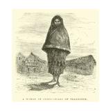 A Woman of Cuzco, Class of Tradesmen Giclee Print by Édouard Riou