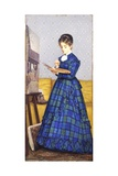 Painter, 1869 Reproduction procédé giclée par Silvestro Lega