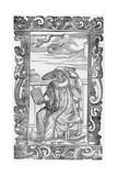 Venetian Lady, 1590 Giclée-Druck von Cesare Vecellio