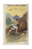 Sisyphus Giclée-tryk