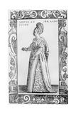 Lady of the House, 1590 Giclée-Druck von Cesare Vecellio