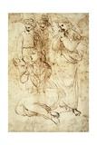 Deposition, Preparatory Study Reproduction procédé giclée par  Raphael