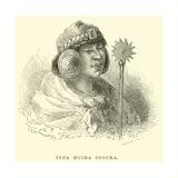 Inca Huira Ccocha Giclee Print by Édouard Riou