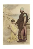A Prisoner of Spear and Arrows Giclee Print by Philip Hermogenes Calderon