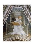 St John Evangelist Giclée-tryk af Giacomo Jaquerio