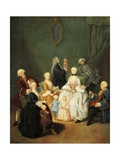 Noble Family Giclee Print by Pietro Longhi