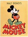 Mickey Mouse - Mickey Masterprint