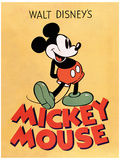 Mickey Mouse - Mickey Masterprint