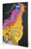 Sleeping Beauty - Ablaze Wood Sign