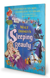 Sleeping Beauty - Glorious Cartel de madera