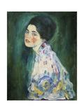 Portrait of a Young Woman, 1916-17 Giclée-Druck von Gustav Klimt