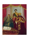 Imperial Family of Haile Selassie I Giclée-tryk
