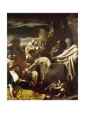 Sacrifice of Moses Giclée-tryk af Massimo Stanzione