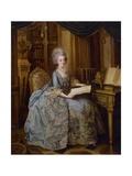 Portrait of Marie Antoinette Reproduction procédé giclée