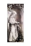 St Elizabeth, 1509-1511 Giclée-tryk af Matthias Grünewald