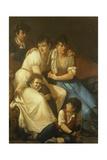 The Hayez Family, 1807 Giclee Print by Francesco Hayez