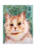 Kaleidoscope Cats II Reproduction procédé giclée par Louis Wain