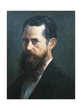 Self-Portrait, 1894 Giclée-Druck von Jose Maria Velasco