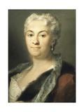 Portrait of Lady Giclee-trykk av Rosalba Carriera