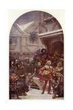 Whittington and the Poor Giclee-trykk av Henrietta Rae