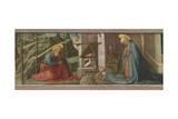 The Nativity, C.1445 Giclée-tryk af Fra Filippo Lippi
