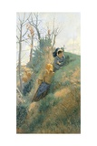 Spring, 1876 Giclee Print by Niccolo Cannicci