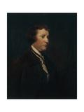 Portrait of Edmund Burke, C.1769 Giclee-trykk av Sir Joshua Reynolds