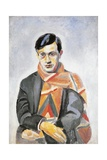 Portrait of Tristan Tzara, 1923 Impressão giclée por Robert Delaunay