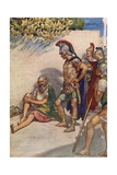 Alexander and Diogenes Giclee Print by William Rainey