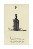 The Letter B Giclée-Druck von Edward Lear