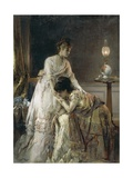 After the Dance, 1874 Giclee Print by Alfred Emile Léopold Stevens