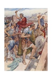 The Pursuit of Caius Gracchus Giclee Print by William Rainey