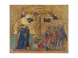 The Crucifixion, C.1340 Giclée-Druck von Paolo Veneziano